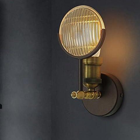 XMM soggiorno corridoio balcone personalizzato portico creativo retrò ristorante camera da letto industriale lampada da parete auto d'epoca