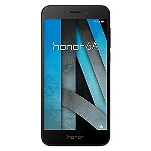 Honor 6A Smartphone (12,7 cm (5 Zoll) Metall-Gehäuse, 16GB, Android 7.0) Grau