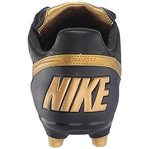 Nike The Premier II FG, Zapatillas de fútbol Sala Unisex Adulto, Multicolor Mtlc Vivid Gold/Black 000, 44.5 EU