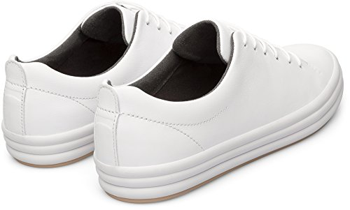 Camper EU White Femme Hoops Natural Blanc Baskets Blanc 100 39 w44OXxU