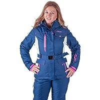 Almwerk Damen Skijacke und Skihose 2.TLG in blau