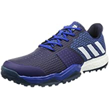 more photos f2aa3 b03f3 adidas Adipower Sport Boost 3 Zapatos de golf para Hombre, Azul  Blanco   Gris