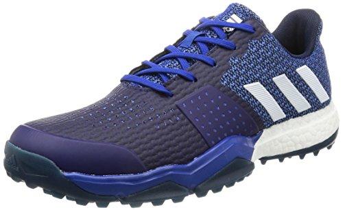 adidas Adipower Sport Boost 3Scarpe da Golf, Uomo, Blu/Bianco/Grigio, 42 2/3 EU (8.5 UK)