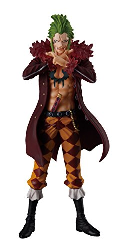 Shokugan One Piece 5.1-Inch Bartolomeo Figure, Super One Piece Styling, Trigger of the Day Blind Box (Styles May Vary… 1