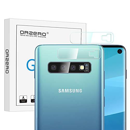NEWZEROL Ersatz für Samsung Galaxy S10 Kamera Schutzfolie, [3 stück] 2.5D Arc Edges Hochauflösender Kamera Flexible Panzerglas Schutzfolie - CLAR [Lifetime-Ersatzgarantie] (2 Galaxy Kamera)