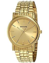 Sonata Analog Gold Dial Men's Watch NM7987YM06W / NL7987YM06W