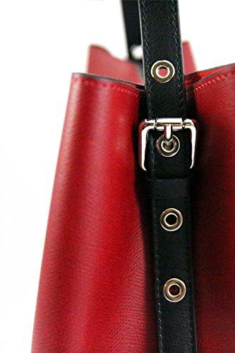 Borsa in pelle a spalla da Donna con bustina fissa- Amica Moda BPL1098 Blu