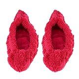 P Prettyia 1 Paire de Housse pour Lame de Chaussures de Patinage à Neige Accessoire Protection - Rouge, L