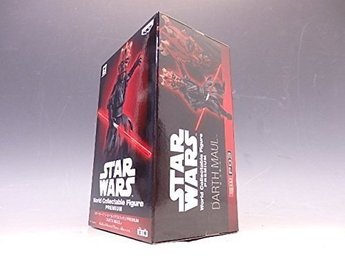 Star Wars World Collectable Figure WCF Premium Darth Maul Banpresto Japan by World Collectable Figure WCF