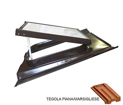 Lucernario Vetro Temperato - Modello 45X60 cm - Telaio...