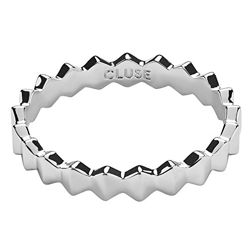 CLUSE Damen-Ringe Versilbert Kristall \'- Ringgröße 54 CLJ42004-54