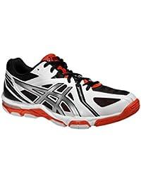 Hombre Zapatos Voleibol / Zapatos De Los Deportes Interior Gel Volley Elite 3 - Competición - blanco / gris, 46.5