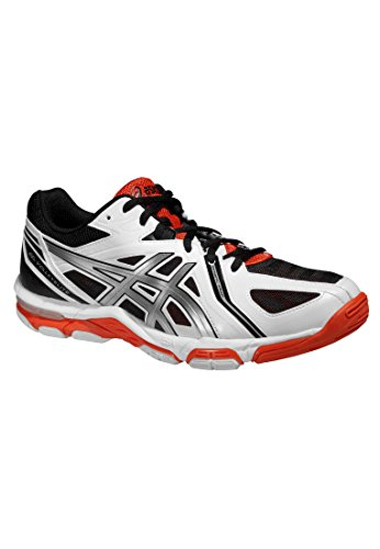 Asics GEL-VOLLEY ELITE 3 - WHITE/SILVER/FIERY RED