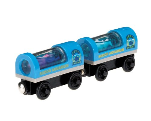 Fisher-Price Thomas the Train Wooden Railway Aquarium Cars - Aquarium Holz-thomas