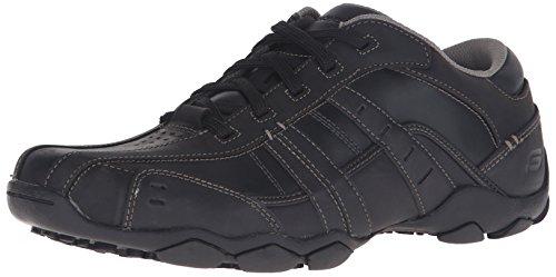 Skechers Diameter Vassell 62607, Sneaker uomo, Nero (Schwarz/BBK), 43