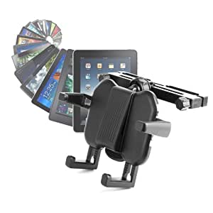 DURAGADGET Fixation support appui tête ajustable voiture pour tablette Google Nexus 7 Asus Tablette Android 4.1 Jellybean et modèle 3G, et Google Nexus 10