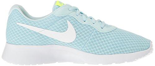 Nike Wmns Tanjun Se, Scarpe da Ginnastica Donna Glacier Blue White Volt