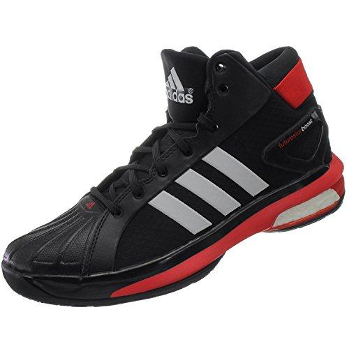 Adidas Futurestar Boost - cblack/ftwwht/scarle, Größe Adidas:13