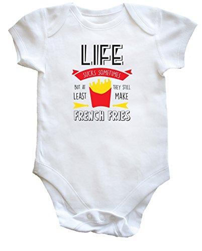 HippoWarehouse  Baby - Jungen Einteiler Gr. 92, Weiß - Weiß (Dads Hot Sauce)