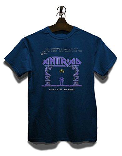 Antiriad 2 T-Shirt Navy Blau