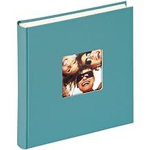 Walther Design FA-208-K álbum de fotos Fun, 30 x 30 cm, 100 páginas blancas, verde, con el corte per un foto