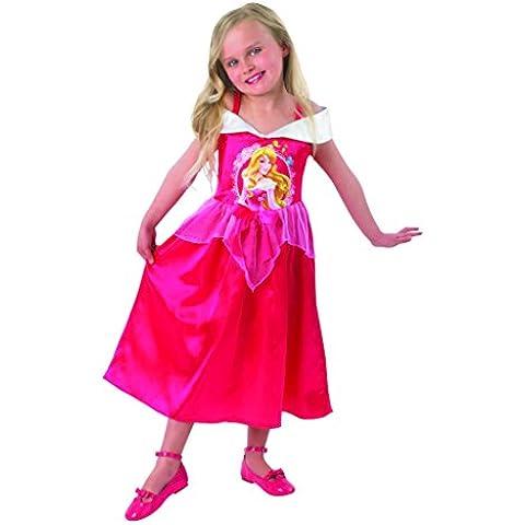 Princesas Disney - Bella durmiente Storytime, disfraz para niños (Rubie's 888789-M)