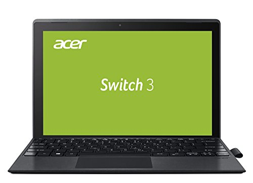Acer Switch 3 (SW312-31) 31 cm (12,2 Zoll Full HD IPS) Convertible Notebook (Intel Pentium N4200, 4 GB RAM, 64 GB eMMC, Win 10 Home) anthrazit