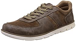 Gliders (From Liberty) Mens Moyes-01 Beige Sneakers - 7 UK/India (41 EU)