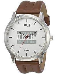 Gully by Timex Hip-hop Analog Silver Dial Men's Watch-TWEG15021