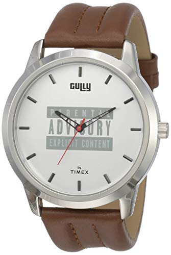 Gully by Timex Hip-hop Analog Silver Dial Men's Watch-TWEG15021