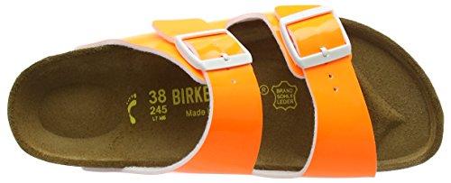 Birkenstock Arizona, Sandales Plateforme femme Orange (Neon Orange)