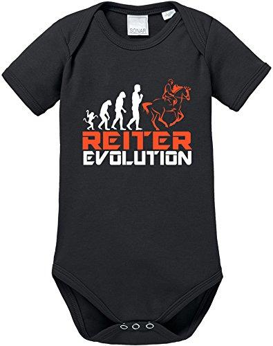 EZYshirt® Reiter Evolution Baby Body Shortsleeve