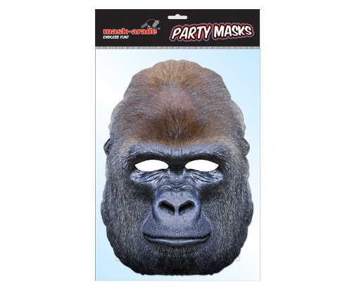 Rubie s Frankreich-mgoril01-Maske Pappe Gorilla (Gorilla Kopf Maske)