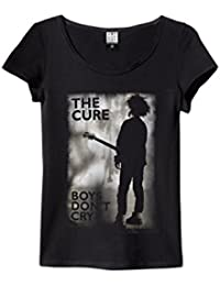 AMPLIFIED THE CURE BOYS DONT CRY WOMEN'S T-SHIRT