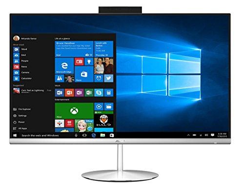 "ASUS Zen AiO ZN242IFGT-CA052T 2.5GHz i5-7300HQ 23.8"" 1920 x 1080Pixeles Pantalla táctil Plata PC todo en uno pcs todo-en-uno - Ordenador de sobremesa All in One (60,5 cm (23.8""), Full HD, 7ª generación de procesadores Intel® Core™ i5, 16 GB, 1256 GB, Windows 10 Home)"