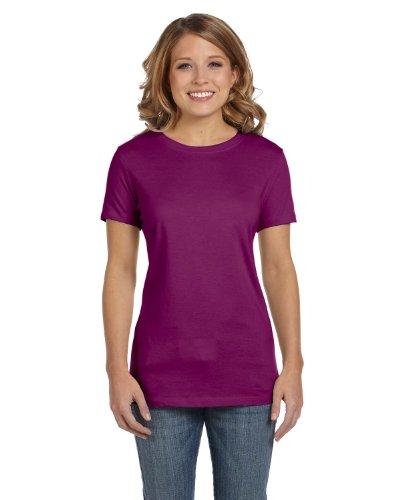 Bella+Canvas: Stretch Rib T-Shirt 1001:00:00 Currant