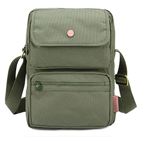 Hiking and Leisure, Borsa a spalla donna grigio Verde militare