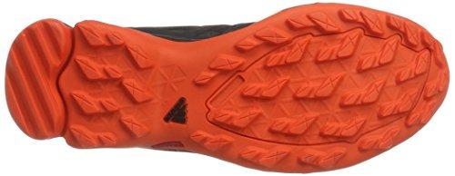 adidas Terrex Swift R Gtx, Scarpe da Escursionismo Uomo Nero (Negbass/Energi)