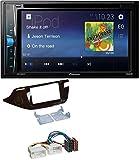 caraudio24 Pioneer AVH-A100DVD AUX USB 2DIN MP3 DVD CD Autoradio für Kia Ceed (ab 12) glänzend
