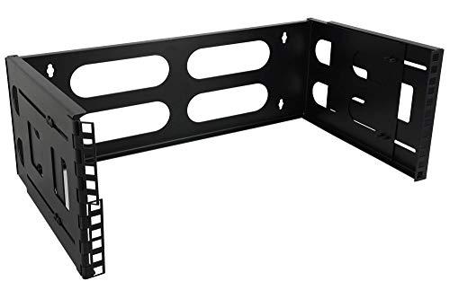 Satix 19 Zoll Rack Wand-Befestigung 4HE verstellbare Tiefe -