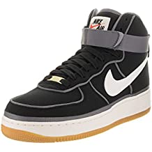 Zapatillas de baloncesto Nike Air Force 1 High '07 Lv8 Black / Sail / Team Orange 10.5 Hombre US