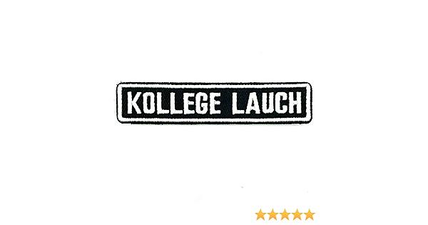 Polizeimemesshop Namensschilder 2 0 Kollege Lauch Textilpatch Mit Klett Auto