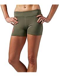 Reebok - Short de sport - Femme vert kaki