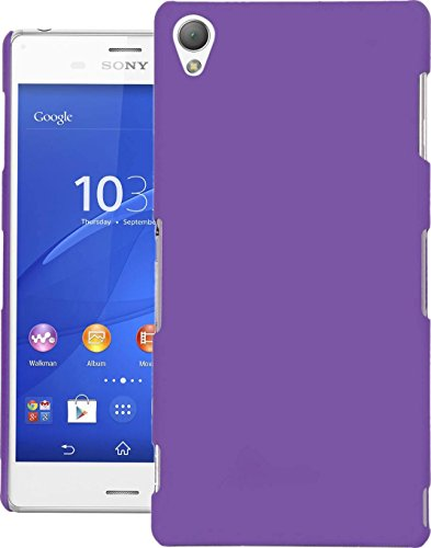 Cubix® Xperia Z3 D6633 Case, Super Slim Hard Back Cover for Sony Xperia Z3 D6633 Purple  available at amazon for Rs.290