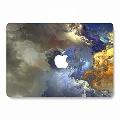 AQYLQ MacBook Schutzhülle/Hard Case Cover Laptop Hülle [Für MacBook Pro 13 Zoll - mit CD-Laufwerk: A1278], Matt Plastik Hartschale Tasche Schutzhülle, HR791 Bunte Wolke (13 Fall Macbook Pink In Pro)
