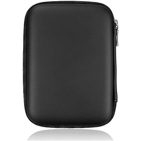 SecretRain Hard disk portatile antiurto Custodia con zip 2.5HDD, colore: