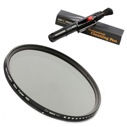 KF-Concept-ND-Fader-Variable-Neutral-Density-Adjustable-ND-Filter-ND2-to-ND400-for-DSLR-Cameras-Cleaning-Pen