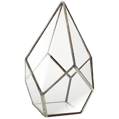 Nrpfell 1 Stueck von fuenf Gesichter Diamant grosse Blume Kristall geometrische Haus Dekoration Hause Pflanze Pot-16x16 x25cm