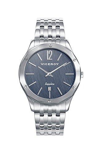 Viceroy Homme Analogique Quartz Montre avec Bracelet en Acier Inoxydable 471129-35
