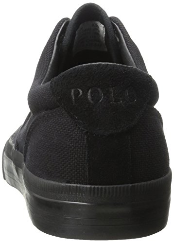 Ralph Lauren Mens Vaughn Canvas Trainers Black